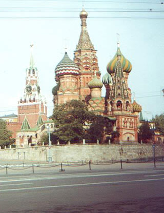 Travel to Russia, St Basilius Moscow